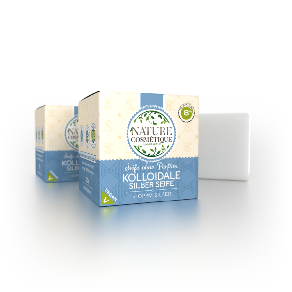 Kolloidale Silber Seife – BIO,120g